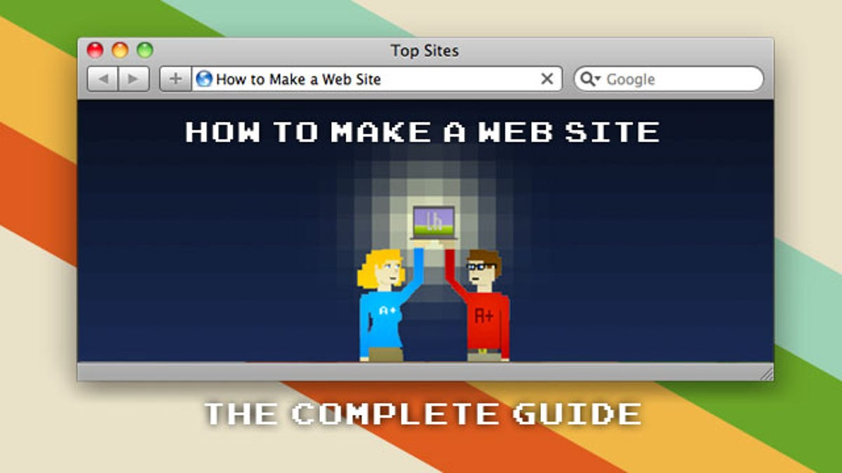 How to make a web site the complete beginners guide baditri Image collections