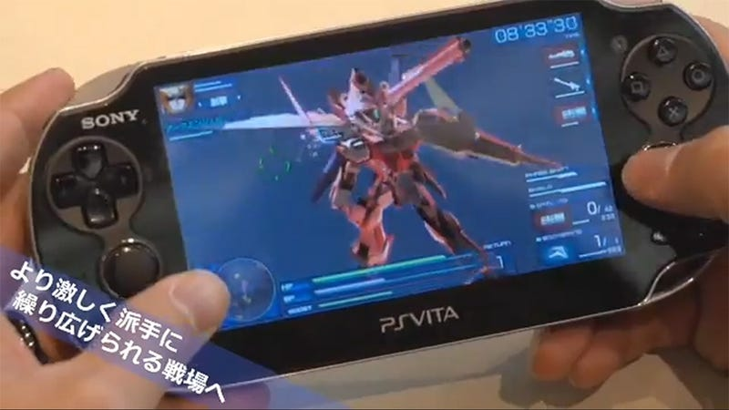 Illustration for article titled Gundam Seed Battle Destiny Announced for the PS Vita