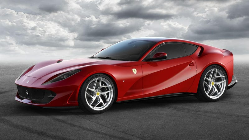 Illustration for article titled The New Ferrari 812 Superfast Has 790 Horsepower But What The Hell Is Happening