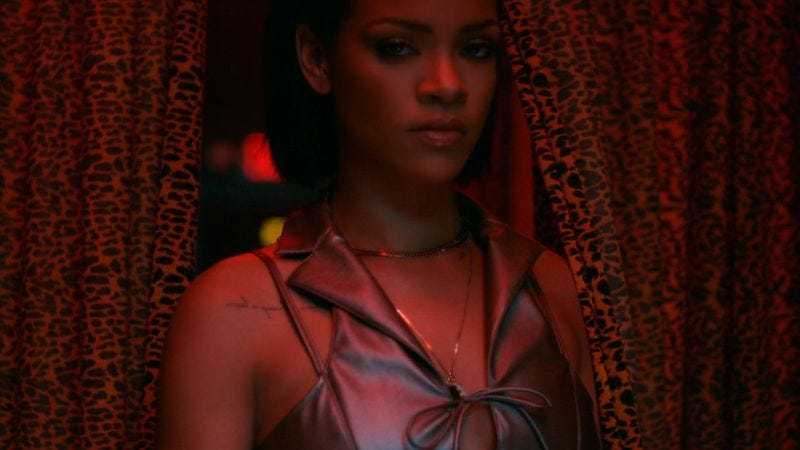"""Illustration for article titled Harmony Korine directs Rihanna's revenge fantasy in the video for """"Needed Me"""""""