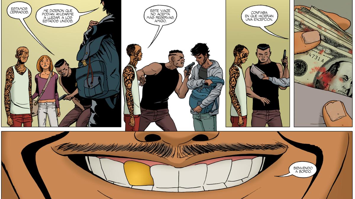 Image result for barrier comic book