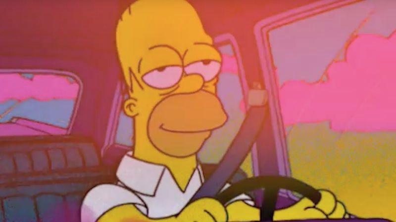 """Driving Homer"" by Lucien Hughes (Screenshot: YouTube)"