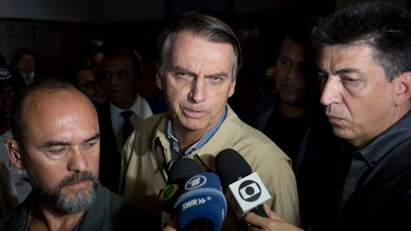 Brazil's far-right presidential candidate Jair Bolsonaro.