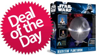 Illustration for article titled This Death Star Planetarium Is Your Interstellar Deal of the Day