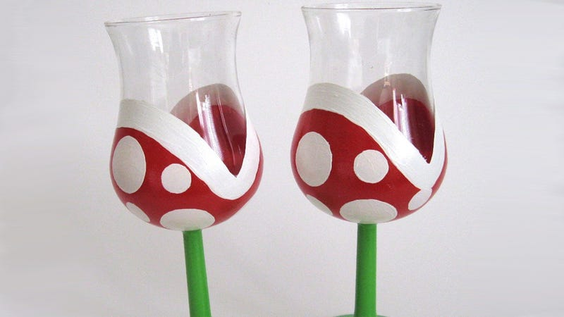 Illustration for article titled There are Wine Glasses, and Then There Are Vine Glasses