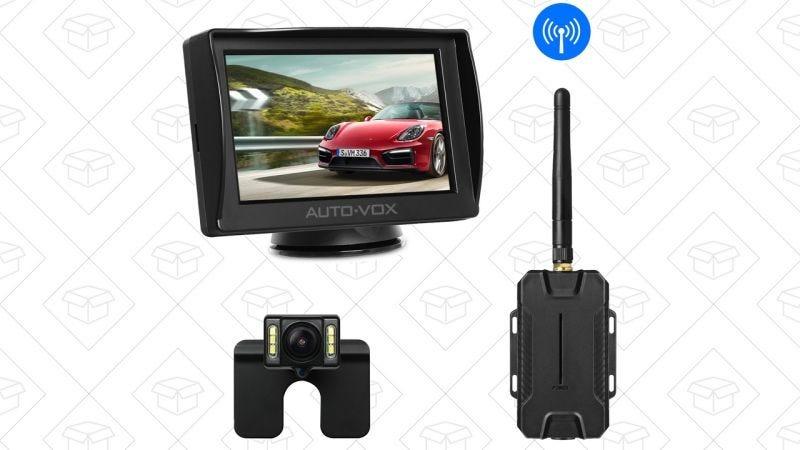 Cámara de visión trasera Auto-Vox M1W | $63 | Amazon | Usa el código VCWASK9Z