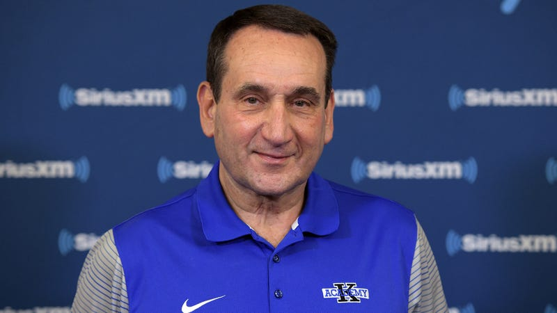 Illustration for article titled Smarmy Coach K Says His College Basketball Isn't Dirty At All