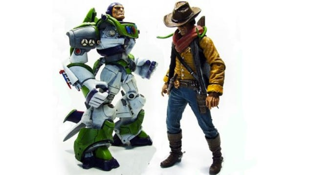 Grittier Toy Story action figures show how terrifying Buzz and Woody ...