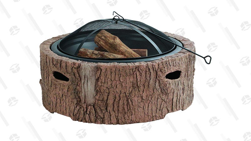 Martha Stewart Wood Burning Fire Pit | $195 | Amazon | Clip the coupon on page