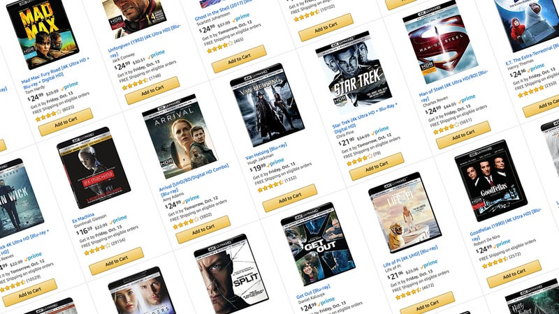 3-for-$50 4K Blu-rays