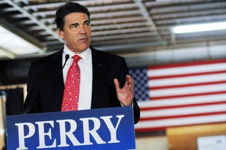 Texas Gov. Rick Perry, GOP presidential candidate (Getty)