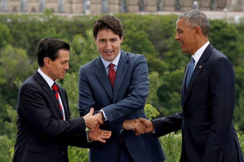 Remember when all of North America had hot-ass leaders?