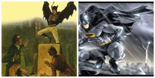 Illustration for article titled Did a Victorian-era penny dreadful inspire the creation of Batman?