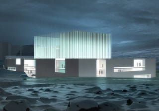 Illustration for article titled Iceland's Ragnarokkin' New Opera House Designed To Be Elf-Friendly