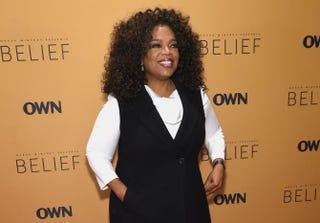 Oprah WinfreyJamie McCarthy/Getty Images