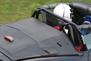 Illustration for article titled 2010 Porsche Boxster Speedster Spied On The 'Ring