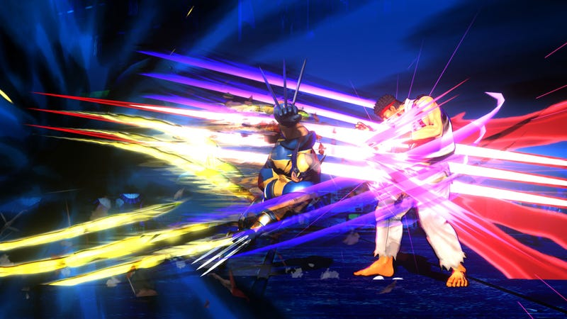 Illustration for article titled Marvel vs Capcom 3 Screenshots Will Kick Your Canon In The Face