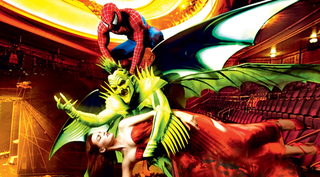 Illustration for article titled The Spider-Man Broadway musical is like eating a candy-coated black widow