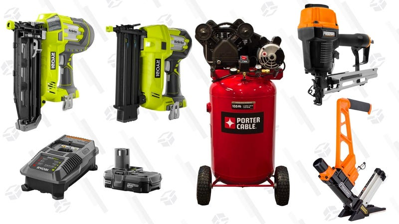 Nailers and Compressors | Home Depot