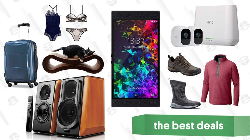 Illustration for article titled Friday's Best Deals: Anthropologie, Edifier Speakers, Nike, Underwear, and More