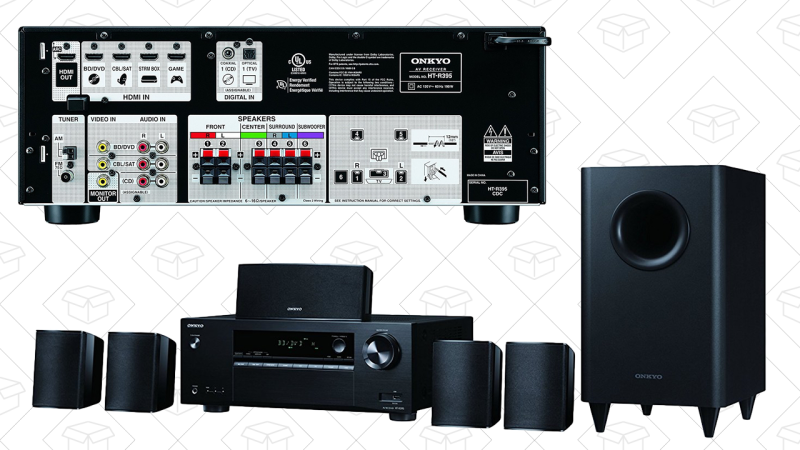 Home Theater Onkyo HT-3800 5.1, $199