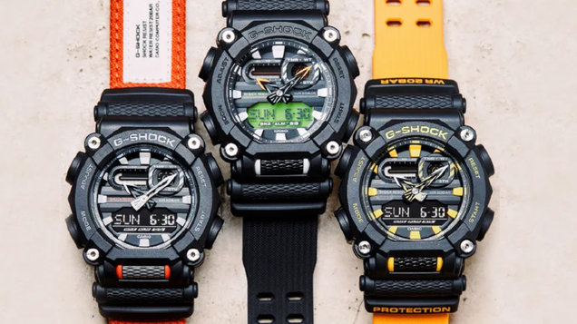 Casio s Latest G-Shocks Are Vibrant, and Presumably Bulletproof