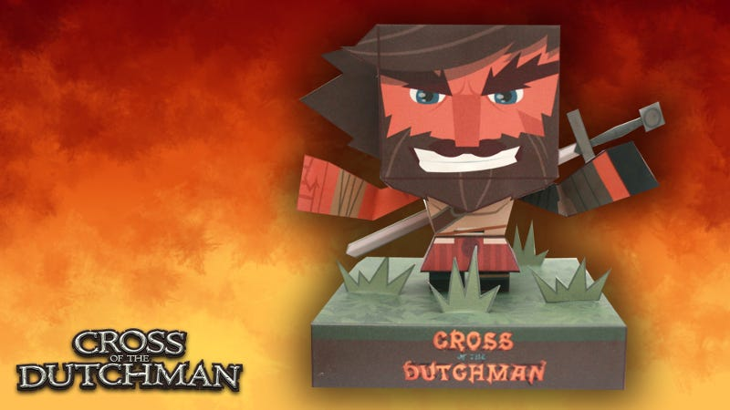 Illustration for article titled Steam Game Sells Papercraft DLC For You To Print Out