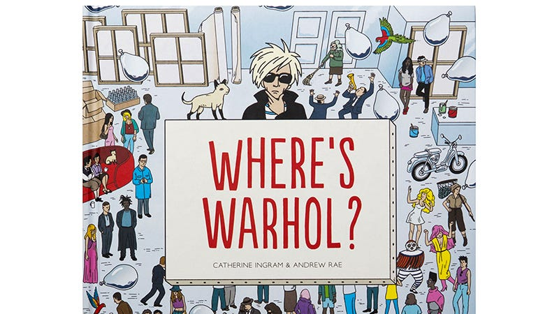 Illustration for article titled An Art Historian Ensured This Where's Warhol?Book Was As Accurate As Possible