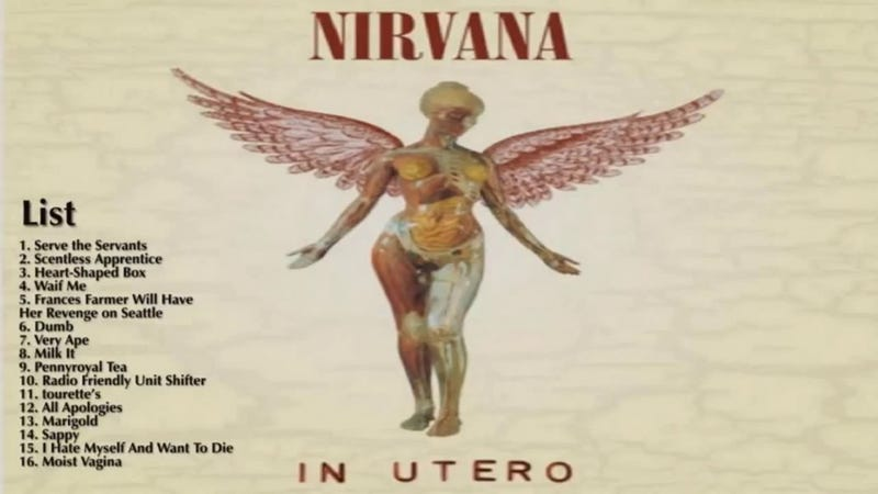 Illustration for article titled Albums I Loved That Are Actually Bad: Nirvana's In Utero