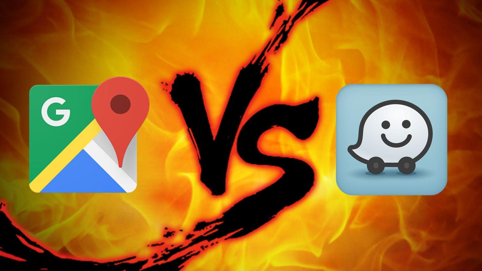 Turn-by-Turn Navigation Showdown: Google Maps vs  Waze