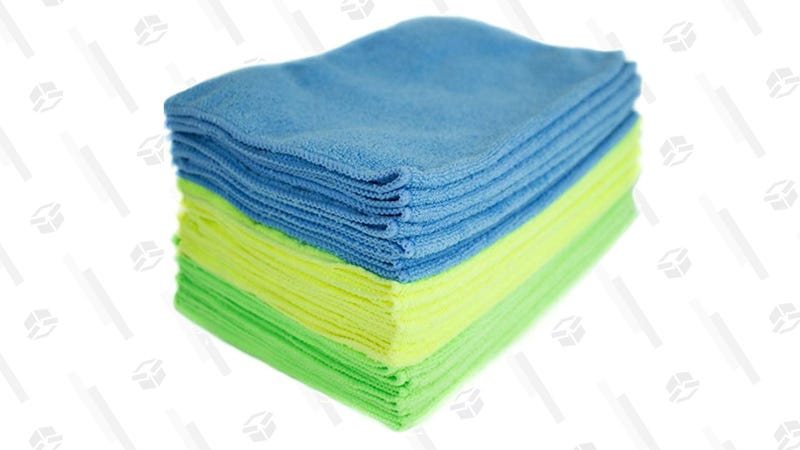 Zwipes Microfiber Cleaning Cloths, 24 Pack | $11 | AmazonZwipes Microfiber Cleaning Cloths, 48 Pack | $22 | Amazon | Clip $1 Coupon at Checkout