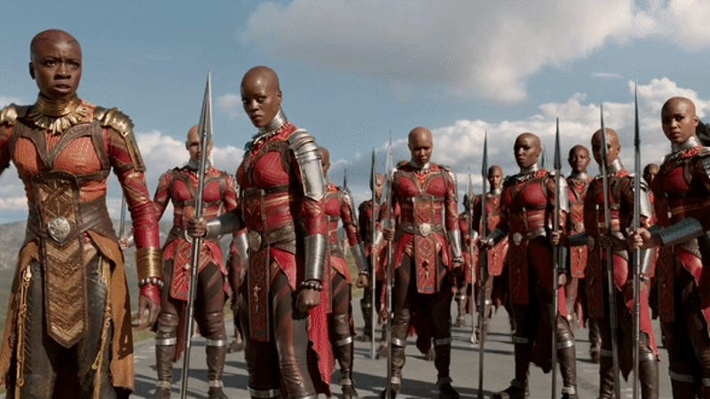 The Dora Milaje Are a Force to Be Reckoned With in Black Panther's Newest Featurette