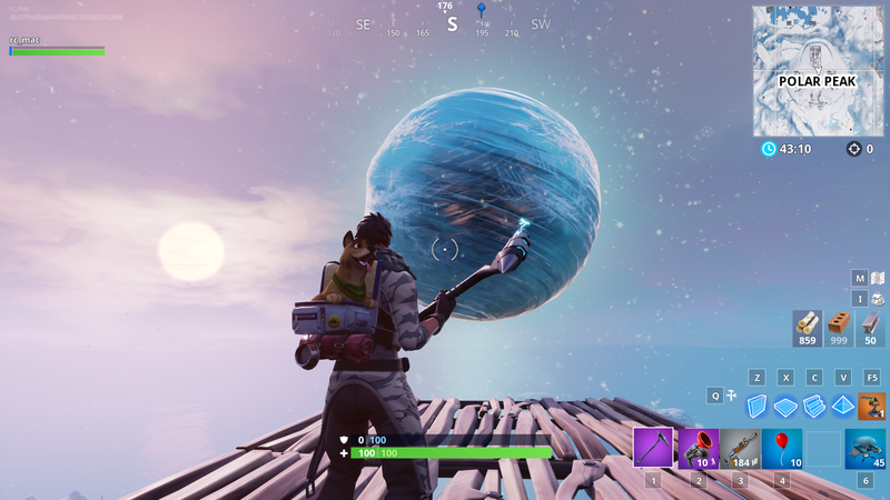 Illustration for article titled Fortnite's New Update Adds Some Ice-Related Mysteries