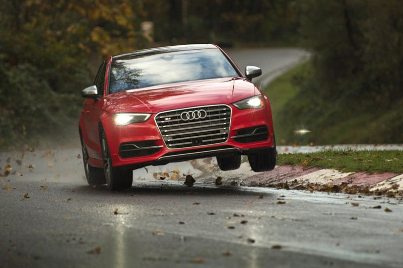 Illustration for article titled The 2015 Audi S3 is so good I broke it