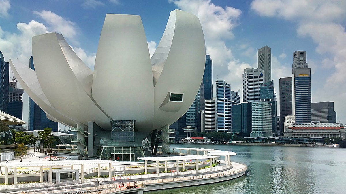 Flower-Shaped Buildings Turn Cities Into Artificial Gardens