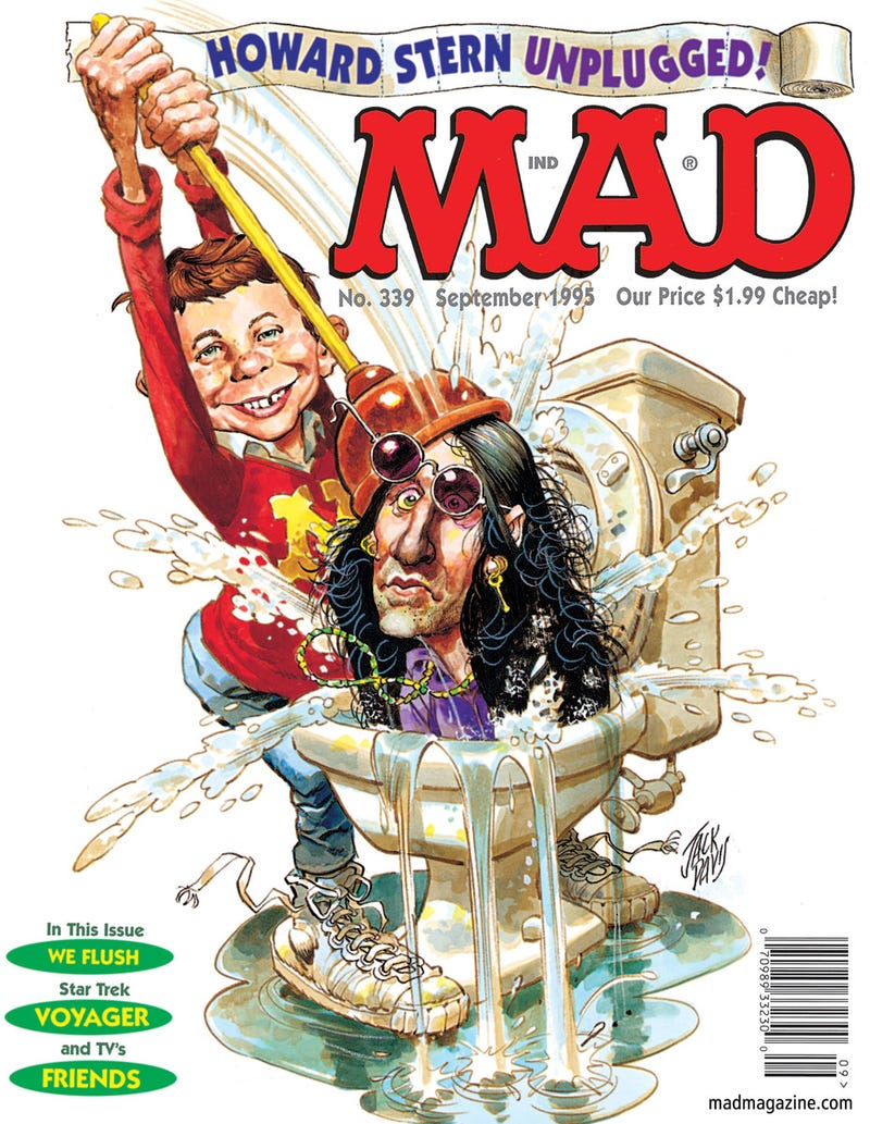 Illustration for article titled MAD Magazine