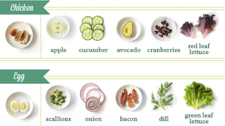 Illustration for article titled The Perfect Salad Combinations for What You Have in the Fridge