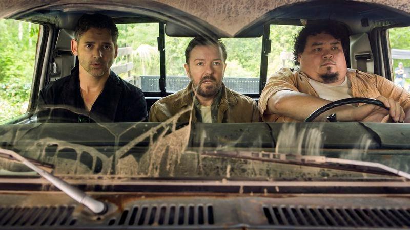 Eric Bana, Ricky Gervais, Pedro Miguel Arce (Netflix)