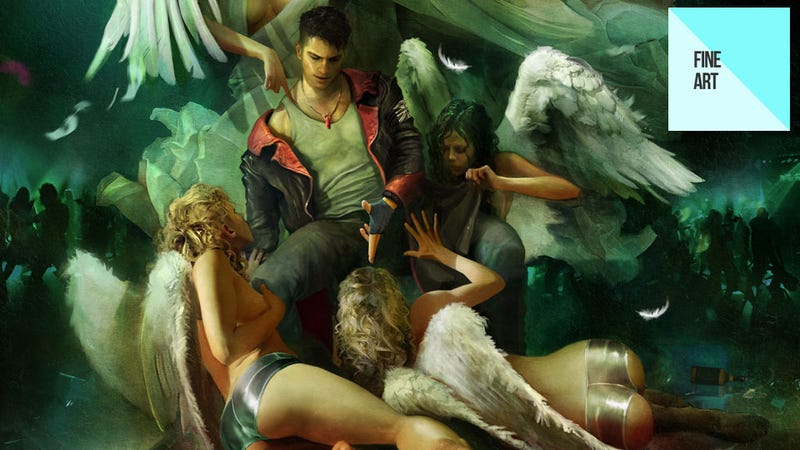 Illustration for article titled The Sexy, Colourful Art of DMC, Enslaved and Heavenly Sword