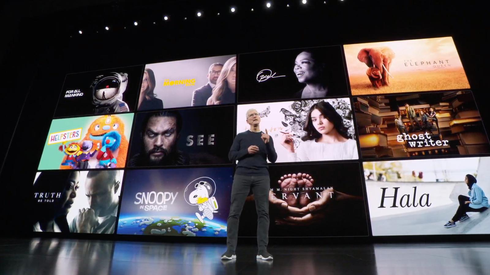 Apple TV+, el Netflix de Apple, llega en noviembre y cuesta 5 dólares