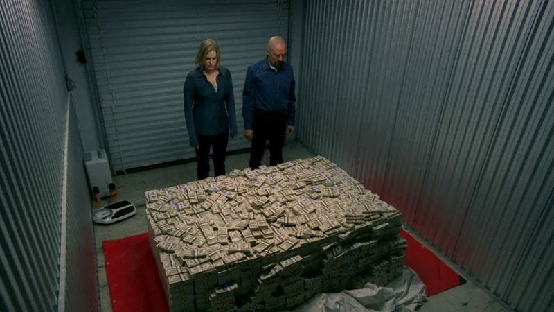 Illustration for article titled Not even $75 million of Jeffrey Katzenberg's money could buy more Breaking Bad