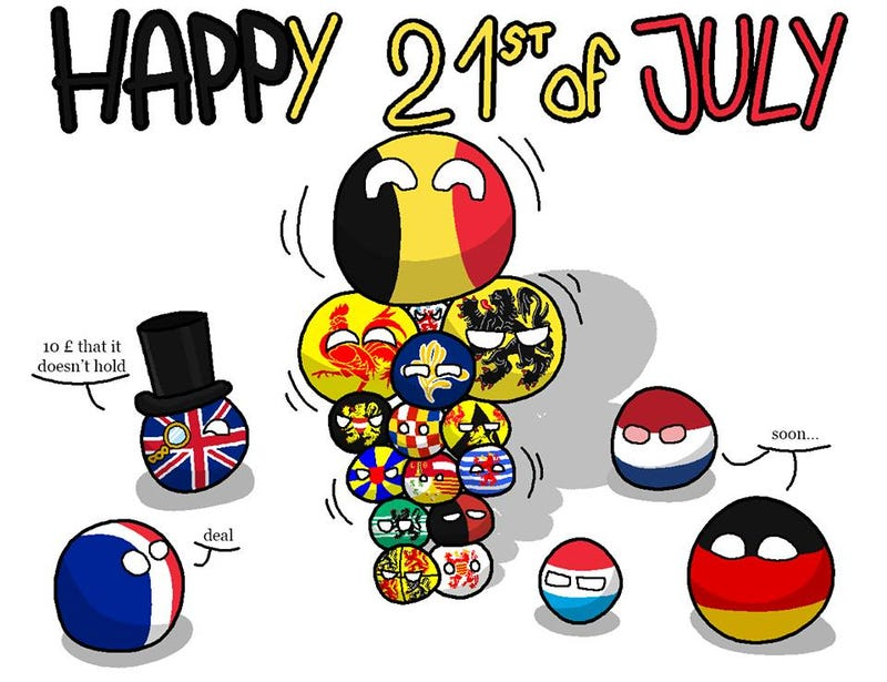 Illustration for article titled Happy Belgian National Day!