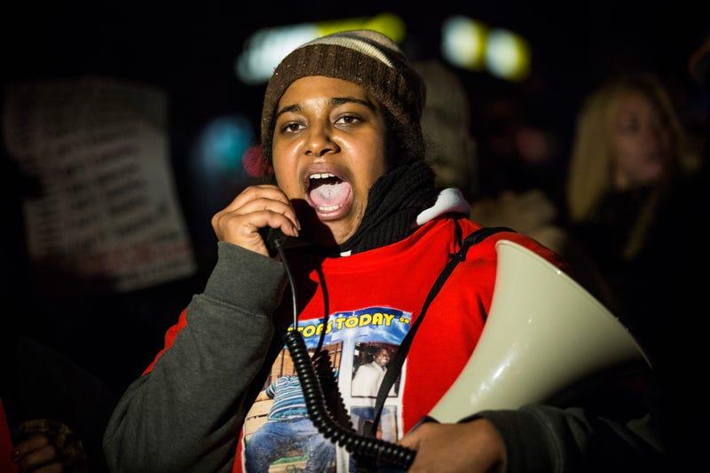 Erica Garner, the daughter of Eric Garner, in 2014Andrew Burton/Getty Images