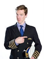 Illustration for article titled Benedict Cumberbatch is an incompetent airline pilot