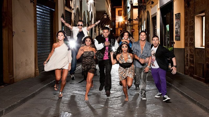 """Illustration for article titled Jersey Shore: """"Season Four Premiere"""""""