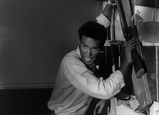 Duane Jones in Night of the Living Dead (YouTube screenshot)