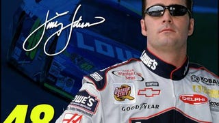 Fun fact: Jimmie Johnson's first name is actually Jimmie. Not James, Jimmie.