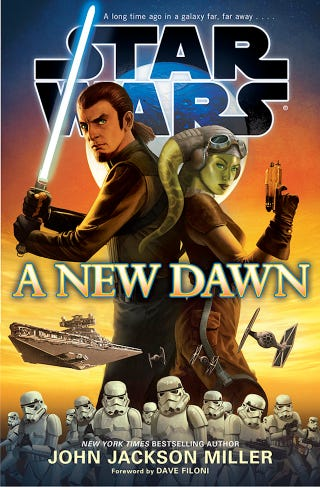 Illustration for article titled First Look At The Star Wars Books Of The Post-Expanded Universe