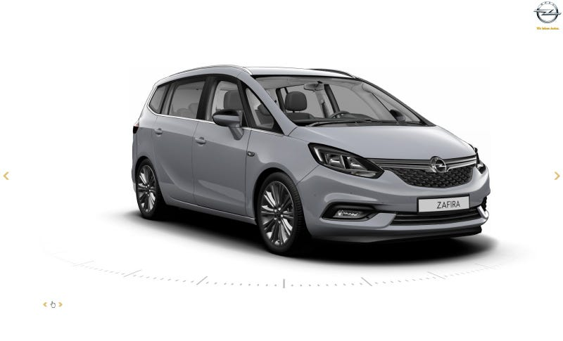 Illustration for article titled 2016 Opel Zafira Tourer: This is it