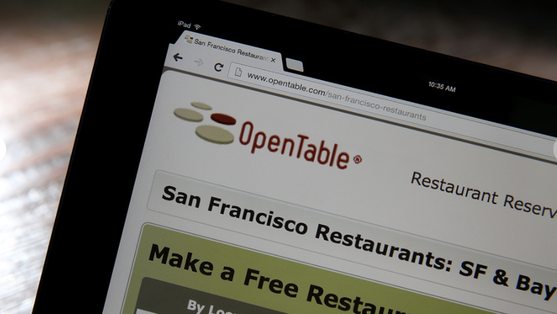 Illustration for article titled Fired OpenTable Employee Booked Hundreds of Fake Reservations Through Rival Service